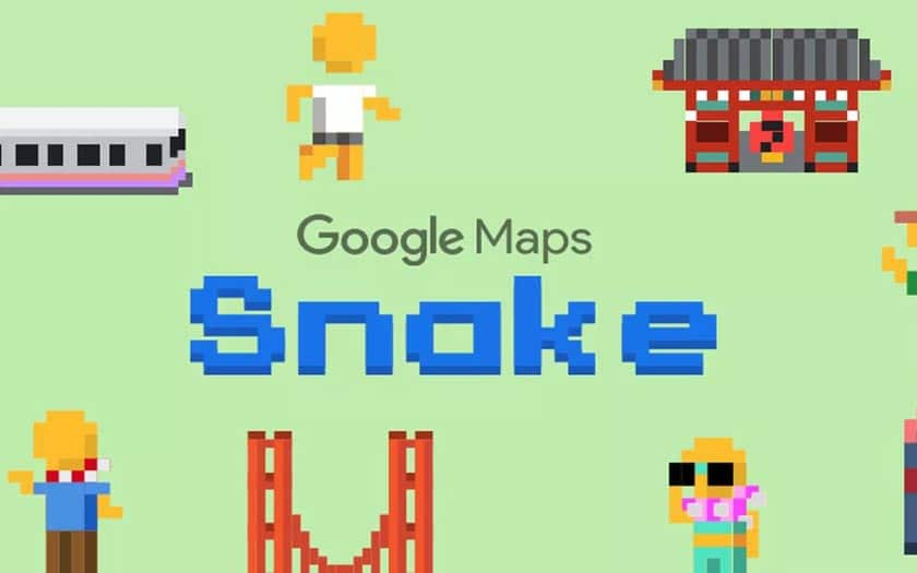 Google Maps intègre le jeu Snake !