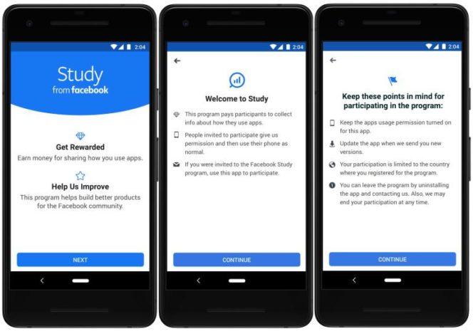 Facebook lance le programme Study