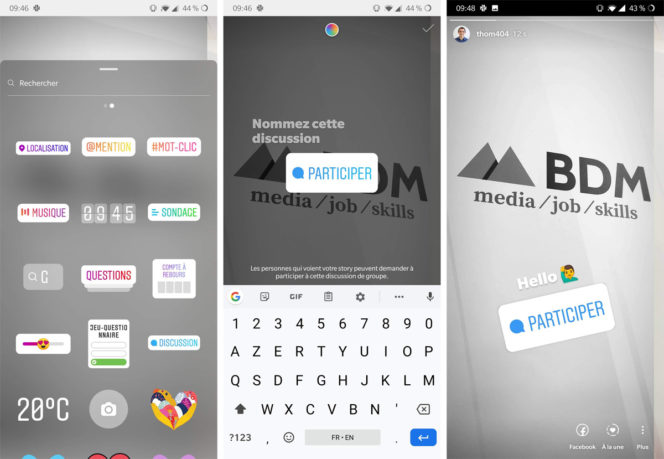"""Instagram : Un nouveau sticker """"Chat"""" a fait son apparition"""
