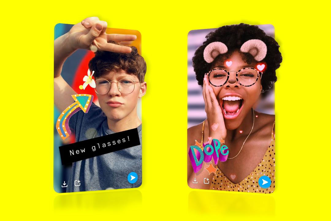 Envoyez des selfies en 3D avec Snapchat