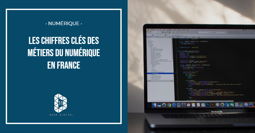 Chiffres : Les métiers du numérique en France