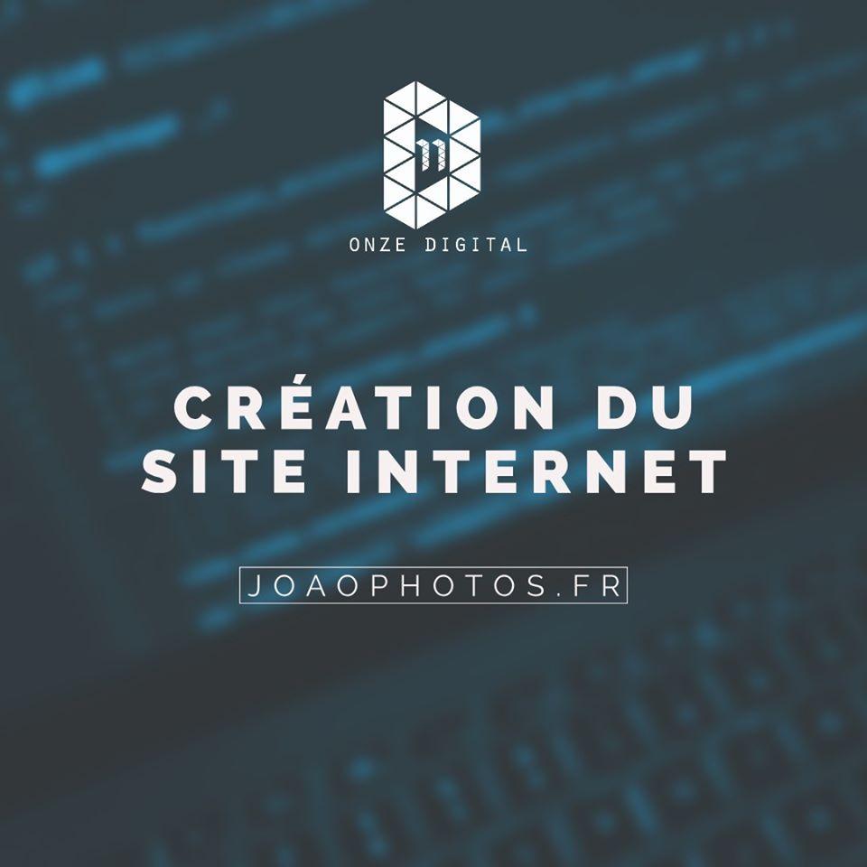 Création d'un site internet pour un photographe pro sur Pau et Nay